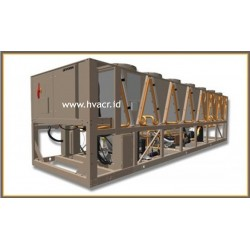 YVFA FREE COOLING VSD SCREW AIR-COOLED CHILLER